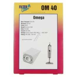 Omega papír porzsák