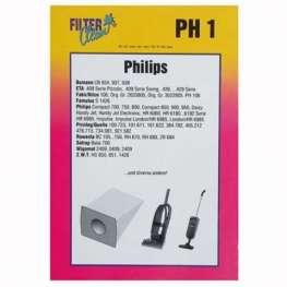 Philips papír porzsák